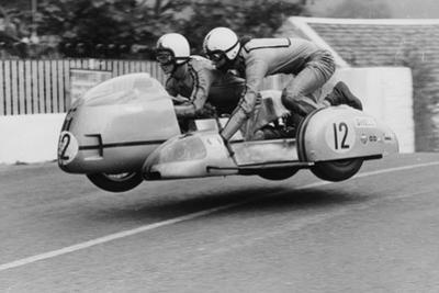 Sidecar TT Race, Isle of Man, 1970