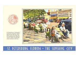 Sidewalk Benches, St. Petersburg, Florida