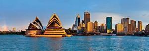 Sidney Circular Quay Panorama