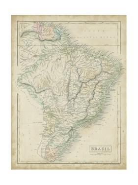 Map of Brazil by Sidney Hall
