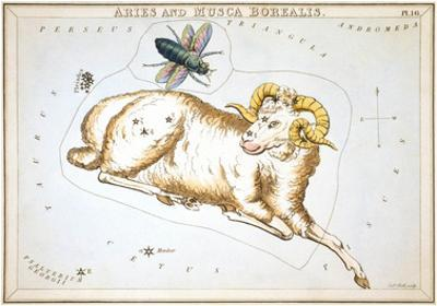 Urania's Mirror, Aries, 1825 by Sidney Hall