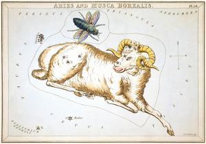 Urania's Mirror, Aries, 1825 by Sidney Hall