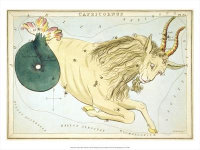 Urania's Mirror, Capricorn, 1825