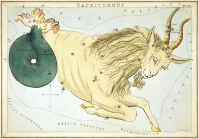 Urania's Mirror, Capricorn, 1825 by Sidney Hall