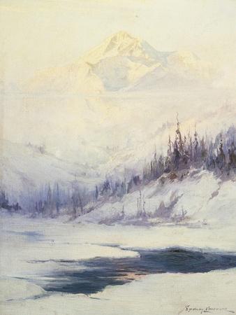 Winter Morning, Mount Mckinley, Alaska