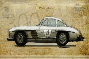 Mercedes 300SL by Sidney Paul & Co.