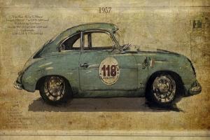 No. 118 Porsche 356 by Sidney Paul & Co.