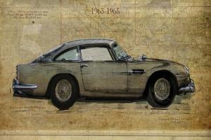 No. 5 Aston Martin DB5 by Sidney Paul & Co.