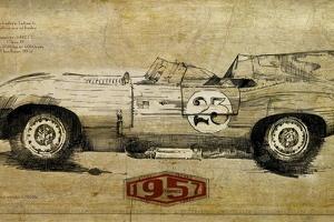 Vintage Car 23 by Sidney Paul & Co.