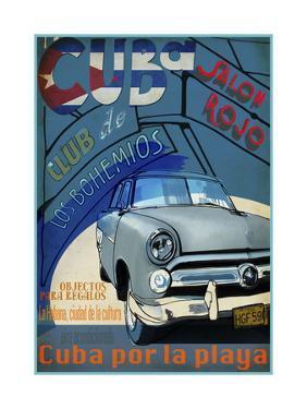 Vintage Travel III by Sidney Paul & Co.