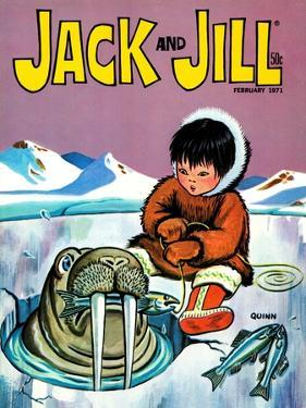 You Should Have Seen The One That Got Away - Jack and Jill, February 1971 by Sidney Quinn