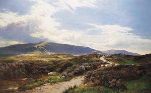 A Perthshire Moor by Sidney Richard Percy
