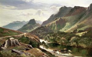 Borrowdale, Cumberland by Sidney Richard Percy