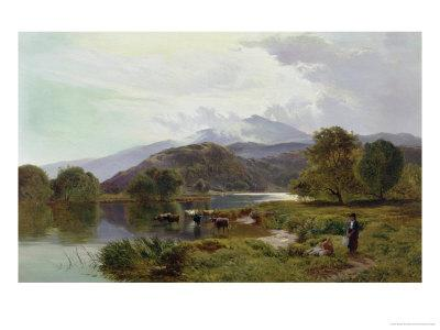 Day on the River, North Wales