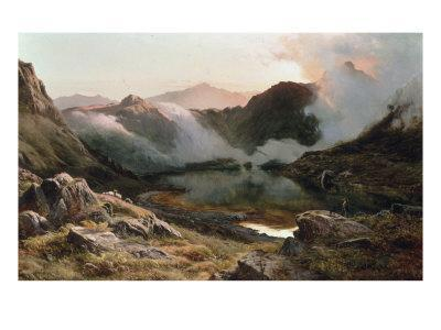 Early Morning, North Wales, 1871