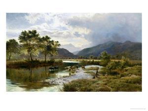 Glen Falloch, Scotland by Sidney Richard Percy
