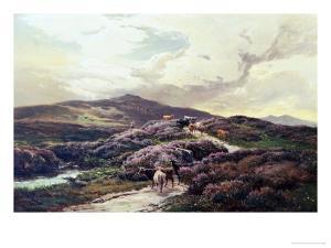 Highland Landscape, Killin, Perthshire by Sidney Richard Percy