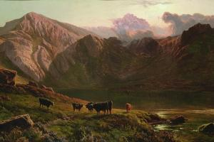Llyn Idwal, North Wales by Sidney Richard Percy