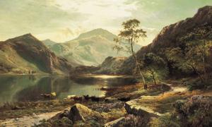 Loch Lomond by Sidney Richard Percy
