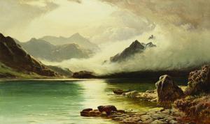 Loch Scavaig, Isle of Skye by Sidney Richard Percy