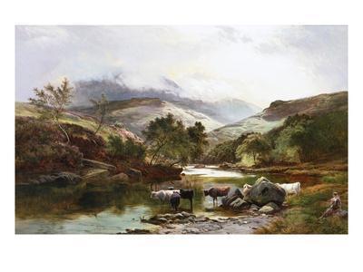 On the Falloch, Scotland