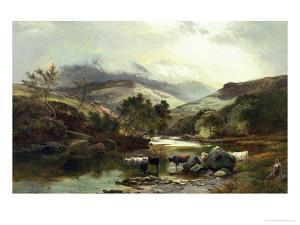 On the Falloch by Sidney Richard Percy