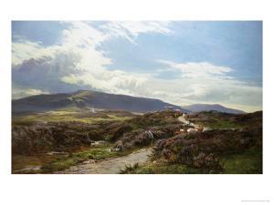 Perthshire Moor by Sidney Richard Percy