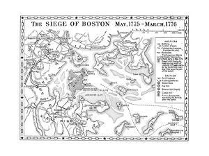 Siege of Boston Map