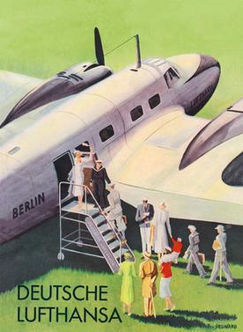 Berlin - German (Deutsche) Lufthansa Airlines by Siegward