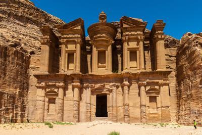 Ad Dayr Monastery, Petra, One of the New Sewen Wonders of the World, Jordan by siempreverde22
