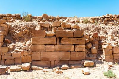 Ancient Ruins in Petra (Rose City), Jordan. the City of Petra Was Lost for over 1000 Years. Now One