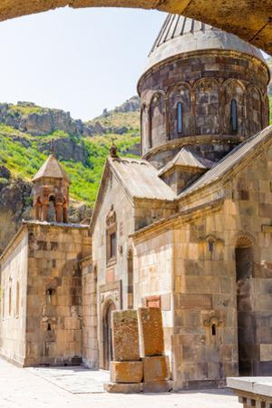 Monastery of Geghard, Unique Architectural Construction in the Kotayk Province of Armenia. UNESCO W by siempreverde22