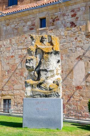 Salamanca Y Congora Monument in Salamanca, Spain by siempreverde22