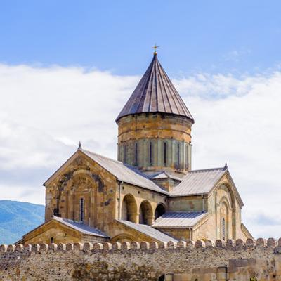 Svetitskhoveli Cathedral (Living Pillar Cathedral), a Georgian Orthodox Cathedral Located in the Hi by siempreverde22