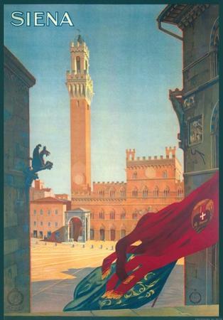Siena- Vintage Travel Poster
