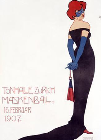 Tonhalle Zurich Maskenball