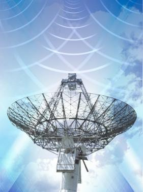 Signals Emanating from Satellite Tower
