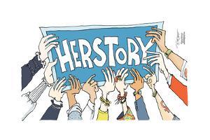 Herstory. by Signe Wilkinson