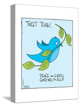 Tweet this! … Peace on Earth, Good Will to All!!! * The Editorial Board. by Signe Wilkinson