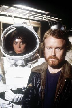 "Sigourney Weaver; Ridley Scott. ""Alien"" [1979], Directed by Ridley Scott."