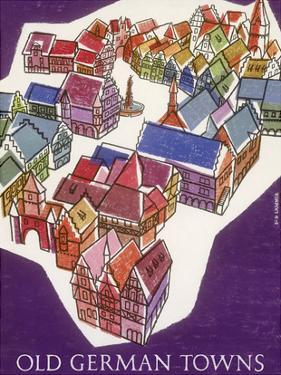 Germany - Old German Towns by Sigrid and Hans Lämmle