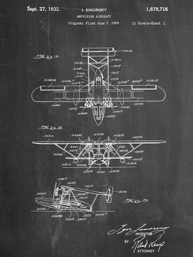 Sikorsky Amphibian Aircraft 1929 Patent