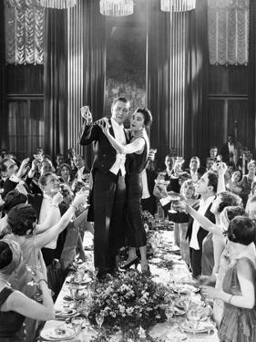 Silent Film Still: Parties