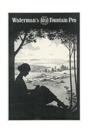 https://imgc.allpostersimages.com/img/posters/silhouette-woman-writes_u-L-PS10IB0.jpg?artPerspective=n