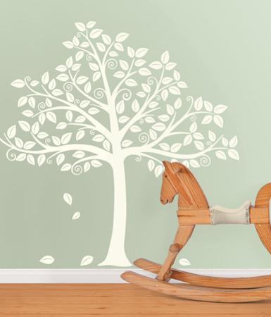 Silhoutte Tree Decal Kit