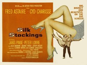 Silk Stockings, with Fred Astaire and Cyd Charisse, 1957