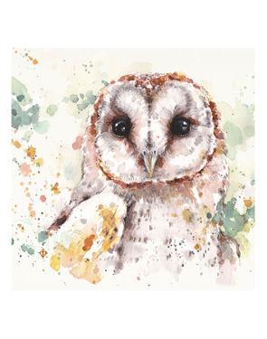 Australian Barn Owl by Sillier than Sally