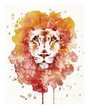 Pride (Watercolor Lion) by Sillier than Sally
