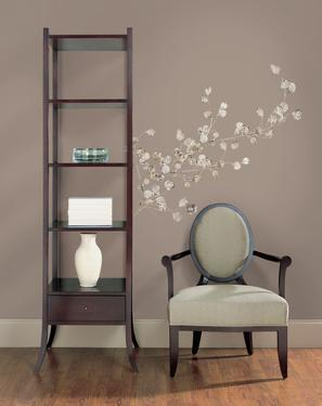 Silver Dollar Branch Peel & Stick Giant Wall Decal