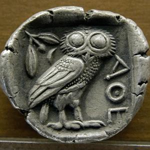 Silver Tetradrachm with Owl